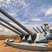 Deck of USS North Carolina