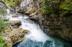 Johnston Canyon in Banff National Park | 2015 (Mark S. Cooper) Tags: outdoors hiking canyon trail banffnationalpark johnstoncanyon 2015 bowvalleyparkway