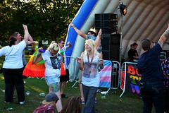 "Dancing in front on the Pride Stage - 2015 • <a style=""font-size:0.8em;"" href=""http://www.flickr.com/photos/66700933@N06/20626558955/"" target=""_blank"">View on Flickr</a>"