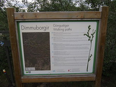 Dimmuborgir is an area next to Myvatn on Iceland, The name means The black castle and The area has lots of lava formations that looks as it was built as a set in a Hollywood blockbuster. Dimmuborgir is also a Norwegian Black Metal band!