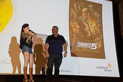 """Angy Fernández y """"Torrente 5″ en Playa del Inglés"""