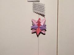 Dezembro 056 (Atelier ArthSarah!) Tags: paper origami modular japo papel bola dezembro tesoura sorte mbile tsuru dobradura longevidade dobras pendurar kudusama