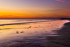 IMG_1666 (Charlie Waltho) Tags: sunset sky reflection beach wales landscape colours broth nothdr