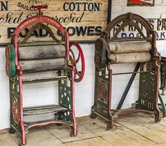 A Fine Pair (Rob Jennings2) Tags: old antique laundry isleofwight washing iow arreton mangle mangles arretonoldvillage