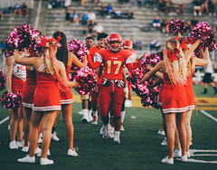 Homecoming Game (The MC SUN) Tags: canon football mc homecoming cheerleader mtcarmelhighschool mcsun