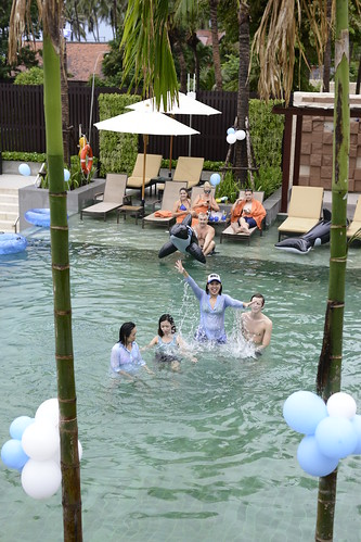 Blue Blue Pool Party - 3 Oct 2015