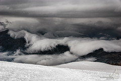 Moment of Truth (TranceVelebit) Tags: italy snow storm mountains alps cold weather clouds switzerland swiss rosa front glacier monte penine