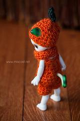 BJD+365 - Day 280 (Britt Miscast) Tags: halloween cat festive pumpkin doll crochet bjd 365 luts latte chu kigurumi pumpkinsuit bjd365 zuzudelf lutsdoll latteloveslatte brittmiscast365 studiomiscast