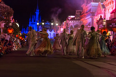 The Ballroom Dance (Kevin-Davis-Photography) Tags: world party halloween scary dancers you grim magic kingdom disney parade haunted boo ballroom grinning to ghosts mansion walt mickeys not so