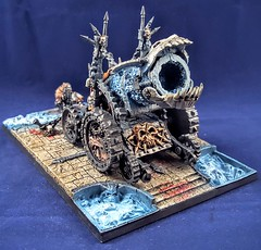 Chaos Hellcannon (ScorpiusGLC's World of Wargaming) Tags: chaos warhammer gamesworkshop ageofsigmar