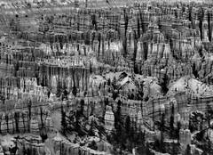 Emphasis on Shapes (Pictoscribe On The Road Til 9-26) Tags: park landscape utah canyon national fractal bryce incredible hoodos bcnp pictoscribe