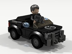 MARVEL - S.H.I.E.L.D Sedan (CJ Blukacz) Tags: sedan lego shield marvel microfighters felixblake