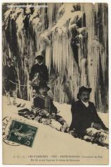 Les Pyrnes : Pau, Eaux-Bonnes - Concours de Skis (pireneas) Tags: ski hiver neige concours pau luge pyrnes patrimoine gourette cartepostale eauxbonnes imageancienne