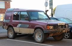 H291 PPW (Nivek.Old.Gold) Tags: tdi rover land discovery 1990 3door 2495cc