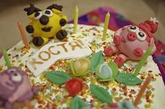 Cake (Sergey SKS) Tags: food leaves rose cake meal