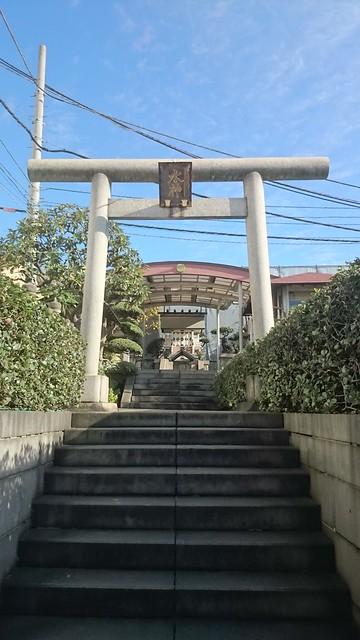 東京築地中央市場 水神社