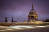 St Pauls Cathedral at dusk (another_scotsman) Tags: england london skyline cityscape nd stpaulscathedral 3stop