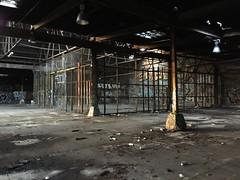 IMG_5506 (Hypurban) Tags: nyc newyork abandoned brooklyn graffiti head warehouse wax smells abandonedwarehouse brooklyngraffiti waxhead graffitiyard cash4