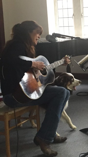 Miller joined in on my song...