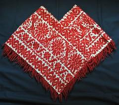 Nahua Cape Quechquemitl Mexico (Teyacapan) Tags: mexico embroidery mexican capes textiles bordados edomex almoloyadelrio nahua