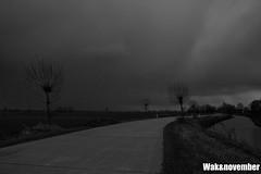 Wak&november (Wak&co) Tags: november bw white black water cloudy wolken jeffrey zwart wit wakanno