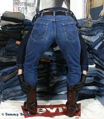 self2811 (Tommy Berlin) Tags: men ass butt jeans ars cowboyboots wrangler