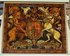 St. Matthew's, Warehorne (grassrootsgroundswell) Tags: church kent romneymarsh royalarms englishparishchurch warehorne