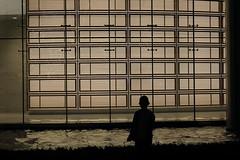 meditacion (darioriano) Tags: city boy urban window silhouette night contrast silence reflaction