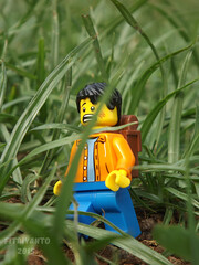 Backpacker at the Jungle (fitriyantoo20) Tags: lego backpacker minifigures