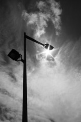 (TheOneShot (Gunnar Marquardt)) Tags: light sky sun amsterdam clouds lantern cheat
