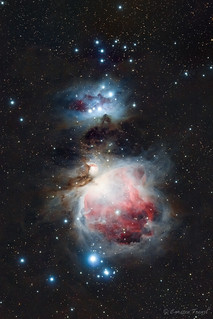 Orion Nebula and the Running Man