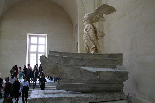 Winged Victory of Samothrace (Side View)