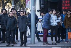 blustery 3 (matteroffact) Tags: china road city winter people urban cold architecture shopping frozen nikon asia shanghai district chinese freezing windy andrew cbd crowds huaihai density dense d800 blustery huangpu puxi luwan 0c matteroffact rochfort andrewrochfort d800e