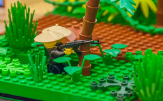 Battle through the Ages:  Vietnam (SEdmison) Tags: history vietnamese lego military battle vietnam american jungle convention timeline ambush brickcon battlethroughtheages brickcon2015
