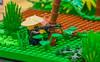 Battle through the Ages:  Vietnam (SEdmison) Tags: history vietnamese lego military battle vietnam american jungle convention timeline ambush brickcon battlethroughtheages brickcon2015
