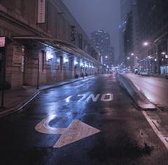 Ghost Town (Jovan Jimenez) Tags: french market chicago eos m3 eosm3 efm 22mm stm f2 night nightscape wet texture canon hdr arrow city autopano autopanopro kolor giga ogilvie transportation center