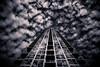 Architectural Canopy (Darren LoPrinzi) Tags: 5d canon5d fl canon florida miii architecture architectural building skyscraper mono monochrome sky clouds perspective tampa tampafl tampaflorida windows reflections reflection