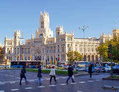 Plaza Cibeles (Uno de Melilla) Tags: plaza cibeles madrid spain españa pwmelilla