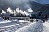 A Freezing Inaugural (joemcmillan118) Tags: amtrak colorado winterpark winterparkexpress skitrain snow