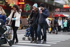 People crossing 7th Avenue at 49th Street. (kevinrubin) Tags: newyork unitedstates us