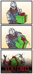 A Dark Souls Christmas (Chikkenburger) Tags: memebase memes videogames video funny cheezburger chikkenburger