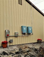 Outdoor-mounted Pika Islanding Inverters in Virginia