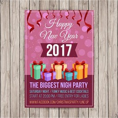 free vector happy new year 2017 party poster (cgvector) Tags: 2017 abstract background banner bar blurred bokeh brochure cafe card celebration christmas colorful cover december decoration design dinner disco eve event festive flyer food glow gold greeting happy holiday illustration invitation invite light lunch menu new night paper party pattern poster presentation restaurant template text typography vector winter xmas year