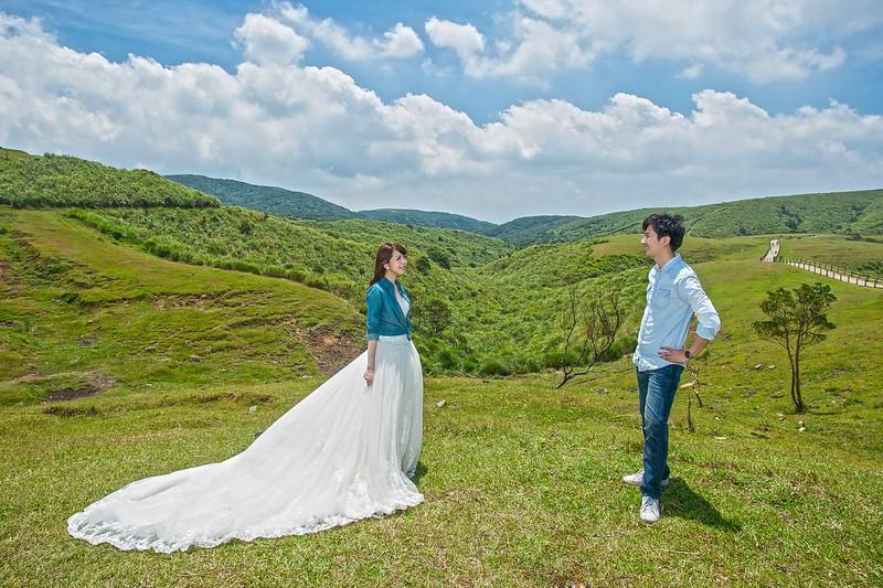 中正紀念堂,擎天崗,新人婚紗,陽明山,黑森林,婚紗攝影