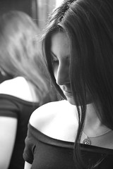 New year (Celia Blanco) Tags: women winter white relax reflections shadows d7100 dark fantastic girl hair house skancheli nikond7100 nikon makeup light lights love looking lips natural night zoom cute curious cold camera beauty beautiful blackwhite black bn