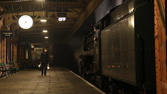 Ready to go (Duck 1966) Tags: 70013 olivercromwell gcr goods loughborough timelineevents train gloom