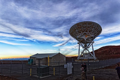 The Very Long Baseline Array (VLBA) (marko.erman) Tags: hawaii big island usa united states sony archipel mauna kea observatory summit top peak mountain science giants sky skyscape panorama pov sunset clouds horizon outside nuage ciel extérieur stars architecture bâtiment radioastronomy antenna vlba