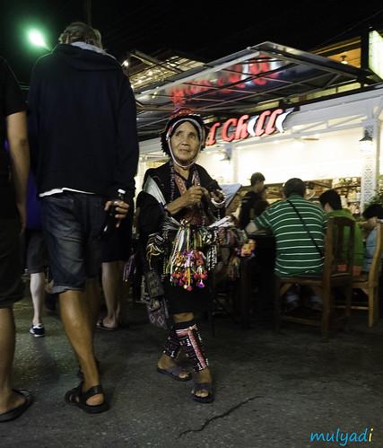 Lady at Hua Hin Night Market