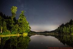 Sternenhimmel über dem Deininger Weiher (munichspace) Tags: nachthimmel deining weiher see antares saturn mars sternbild skorpion constellation sternenhimmel astronomie astronomy milchstrase