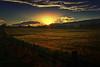 Dusk (Kevin_Jeffries) Tags: nikon kevinjeffries nikkor d7100 light star barley field hills
